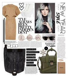 """""""new year's style resolution. <3"""" by tatjana ❤ liked on Polyvore featuring Shoe Cult, Rosetta Getty, Yves Saint Laurent, 3.1 Phillip Lim, Ray-Ban, Shishi, The Cambridge Satchel Company, contestentry, polyvorecontest and styleresolution"""