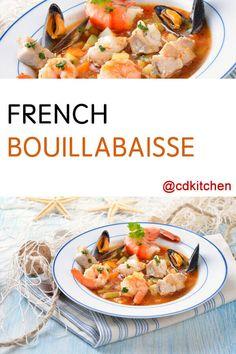 Other Recipes, Fish Recipes, Seafood Recipes, Soup Recipes, Dinner Recipes, Cooking Recipes, Dinner Ideas, Seafood Bouillabaisse, Bouillabaisse Recipe