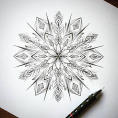 "620 Likes, 11 Comments - Mandala Head (Mandala Art) (@mandalahead) on Instagram: ""♥ The one and only @dbdoodles! Follow for top mandalas: @mandalahead Follow the featured…"""