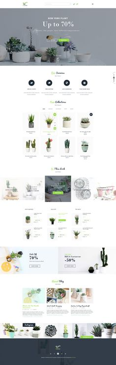 BeGreen - Multipurpose Planter PSD Template by YoloPSD | ThemeForest