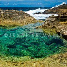 Eleuthran Pool #ocean #Bahamas #Eleuthera #QueensBath