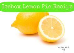Icebox Lemon Pie Recipe