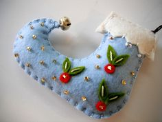 felt ornaments | Felt Christmas Ornaments made by Miki ALL HANDMADE by MikiStitch