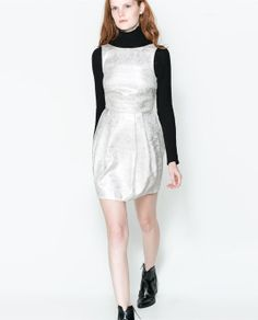 ZARA - NEW THIS WEEK - TULIP DRESS WITH V-BACK