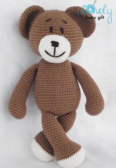 Amigurumi Pattern Crochet Amigurumi Bear Crochet by LovelyBabyGift
