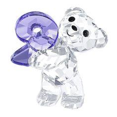 Swarovski Crystal Figurine KRIS BEAR NUMBER NINE Number 9 Birthday #5108731
