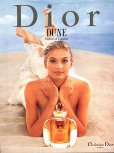 kristina semenovskaya Dune by Dior Parfum Dior, Anuncio Perfume, Dior Dune, Dior Collection, Christian Dior Makeup, Vanilla Perfume, Perfume Recipes, Beauty Ad, Beauty Products