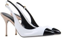 Sergio Rossi--love the color scheme Love this: Slingbacks @Lyst