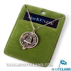 MacKenzie Clan Crest Pendant