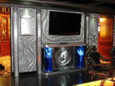 Design, interior, furniture, decor, panels.Project H.R.Giger. Designer - Alexei Pimenov.