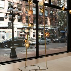 28 Stem - Bocci Halfway House, 2nd Avenue, Madison Avenue, Wall Outlets, Berlin Germany, West Hollywood, Lamps, Brass, Interiors