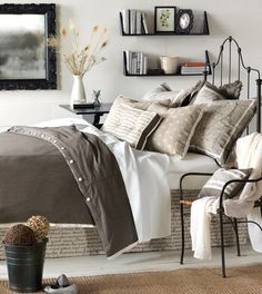 Eastern Accents - Luxury Bedding Collections, Custom Bedding, Bed Linens - Daphne Collection