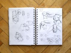 Adelaida - Art, illustration and craft blog of Aleksandra Chabros: From my sketchbook #11