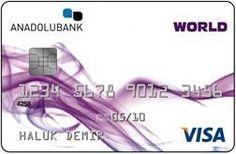 Anadolu Bank World Kredi Kartı Başvuru ve Sonucu Öğrenme - http://www.turkiyekredi.com/anadolu-bank-world-kredi-karti-basvuru-ve-sonucu-ogrenme.html
