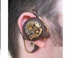 Cool Steampunk Bluetooth headset