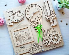 Handmade Personalized Wooden Gifts by CreativeST Wooden Gifts, Wooden Toys, Projects For Kids, Crafts For Kids, Wooden Educational Toys, Personalized Engagement Gifts, Wood Toys Plans, Montessori Toys, Wooden Puzzles