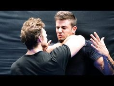KRAV MAGA TRAINING • Cornered! What would you do now? - YouTube
