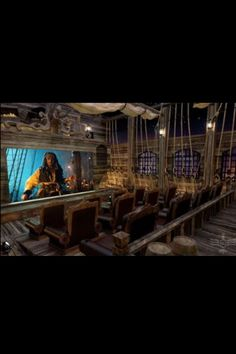 Luxury titanic theme home theater room home improvement home