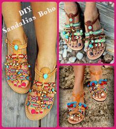 DIY Sandalias Boho (étnicas)