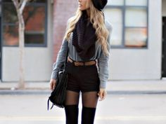 over-knee socks