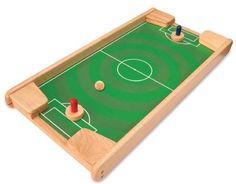 I´M Toy Fußball und Bowling, Zielschießen, Familienspiel aus Holz,