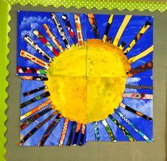 KLASSENKUNST: Gemeinsames Kunst-Projekt