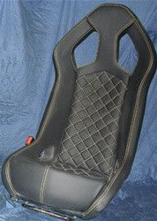 Not A CHEAP COPY, This is the REAL THING! From a 2008 Mucrielago track conversion, this is a brand new black leather with yellow stitching 1 piece European racing seat. Smooth Leather, Black Leather, Jeep Seats, Fold Up Chairs, Sesto Elemento, Car Furniture, Volkswagen Group, Racing Seats, Lamborghini Huracan