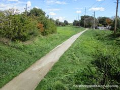 The Illinois & Michigan Canal State Trail in Ottawa