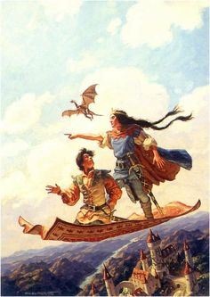 I have always loved these books!  SEARCHING FOR DRAGONS BY TIM & GREG HILDEBRANDT