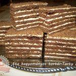 Marlenka Torte Cake, Cake Bars, Cookie Recipes, Dessert Recipes, White Cakes, Salty Snacks, Hungarian Recipes, Sweets Cake, Food Humor