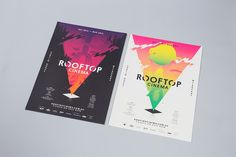 Poster Rooftop Cinema by SouthSouthWest