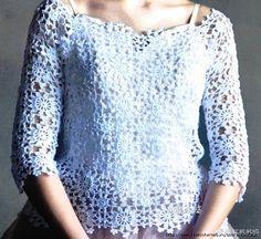 Crochetemoda Blog: Blusas