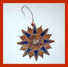 Rare german dresden cardboard medal, cotillion medal, ca. 1880 / 1900 (# 4178)