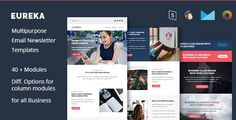 Eureka - business email templates - Email Templates Marketing