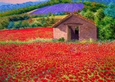 Pinturas Cuadros: Flores y Paisajes con Espátula Óleo