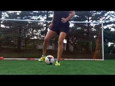 Improve your soccer footwork and dribbling skills! With practice, you will increase the speed and effectiveness of the move. Soccer Season, Soccer Drills, Soccer Training, Coaching, Kicks, Running, Workout, Sports, Journey