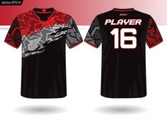 Sports Jersey Template For Team Uniforms Sports Uniforms, Team Uniforms, Sports Shirts, Camisa Nike, Sports Jersey Design, Sublime Shirt, Shirt Template, Shirt Designs, Jersey Designs