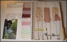 SketchBook - fashion design and colour scheme ideas