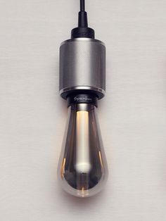 LED BUSTER BULB in smoked glass