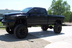 lifted dodge truck | Show Me Your Blacked out Trucks - Dodge Cummins Diesel Forum