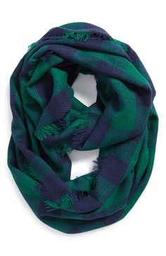 Free shipping and returns on Steve Madden Buffalo Plaid Infinity Scarf at Nordstrom.com. A fringed infinity scarf goes with almost any look thanks to its classic Buffalo plaid.