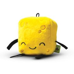 Mr. Little Cheese Piece Mini Plush! 1 of the 5 Sandwich ingredients.  Get this on Etsy  http://etsy.me/1CCAhAC