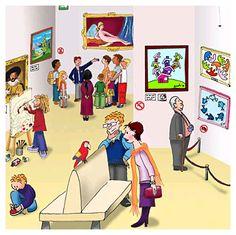 praatplaat Het museum