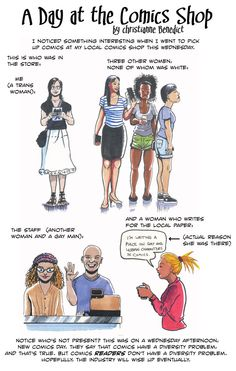 A Day at the Comics Shop by doctor-morbius.deviantart.com  PREACH IT!
