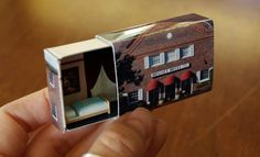 Matchbox Building: Matchbox Miniature of The Brassey Hotel by SuitcaseDollhouse