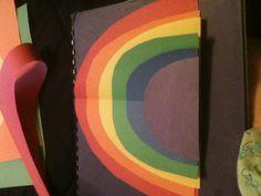 Sizing rainbow for preschool Rainbow Crafts Preschool, Spring Theme, Rainbows, Sunglasses Case, March, Rainbow, Mars