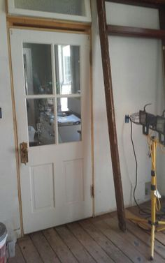 Kitchen restoration continues, all plumbing & electrical complete, ready for floors.