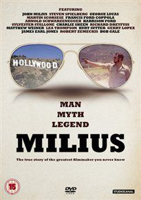 MILIUS (15) 2013 JOEY FIGUEROA, J/KNUTSON, Z £19.99 Profile of screenwriter and director, John Milius. dvd available to buy at -   www.worldonlinecinema.com/Home/documentaries