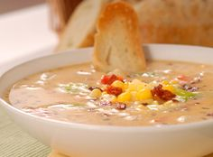 Roasted Corn Chowder from 7 Sriracha Recipes 8 ears fresh sweet corn ...