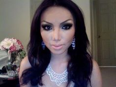 THIS GIRL IS AMAZING!!!!! Make-up Transformation : Me as Kim kardashian  !!!